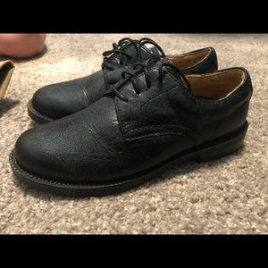 Nordstrom kids black dress shoe